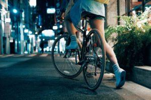 Tener confianza en bicicleta