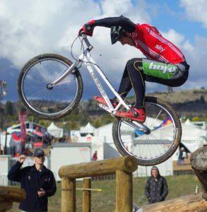trial en bicicleta