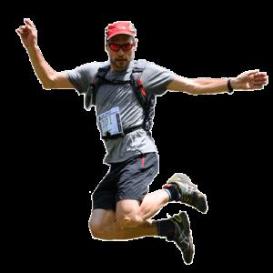 Javier Franco corriendo
