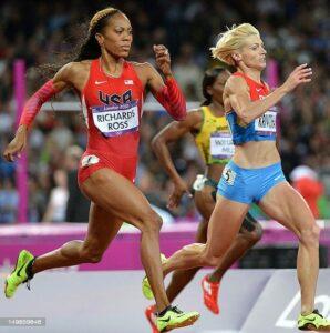 Competición atletismo olimpiadas