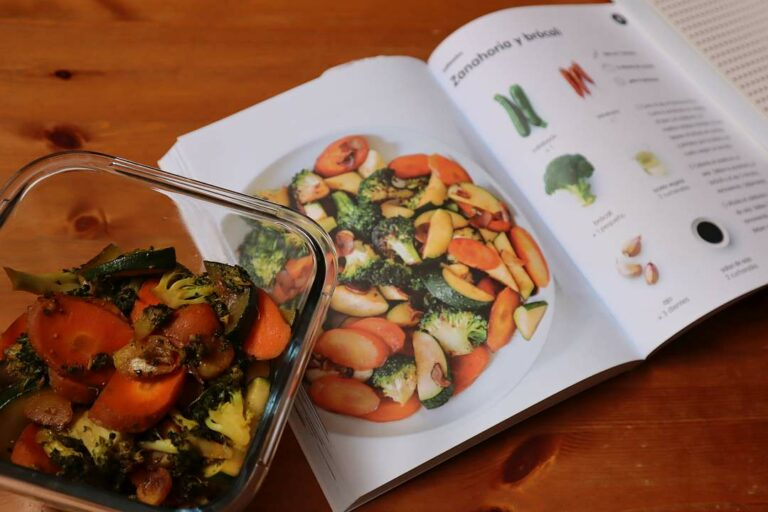 receta de vegetales rehogados